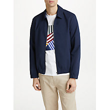 Buy Kin by John Lewis Seersucker Jacket, Navy Online at johnlewis.com