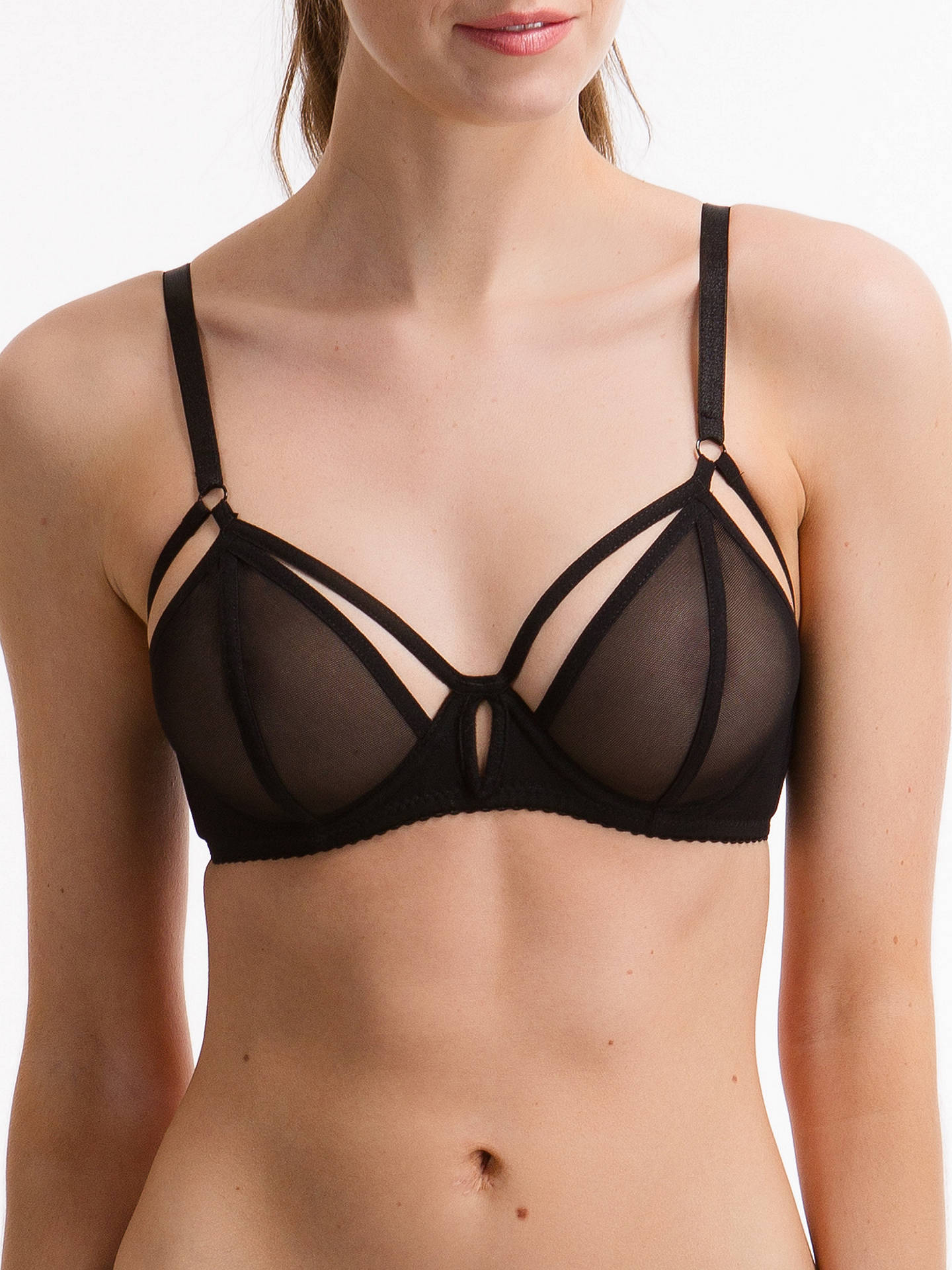 BuyBluebella Caterina Bra, Black, 30B Online at johnlewis.com