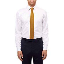 Buy Jaeger Slim Fit Twill Shirt, White Online at johnlewis.com