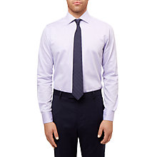 Buy Jaeger Luxury Oxford Regular Fit Shirt, Lilac Online at johnlewis.com