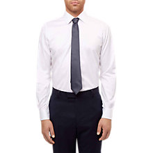 Buy Jaeger Regular Fit Twill Shirt, White Online at johnlewis.com