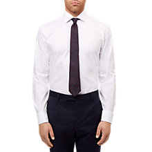 Buy Jaeger Dobby Slim Fit Shirt, White Online at johnlewis.com