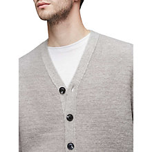 Buy Reiss Stanford Cardigan, Grey Online at johnlewis.com
