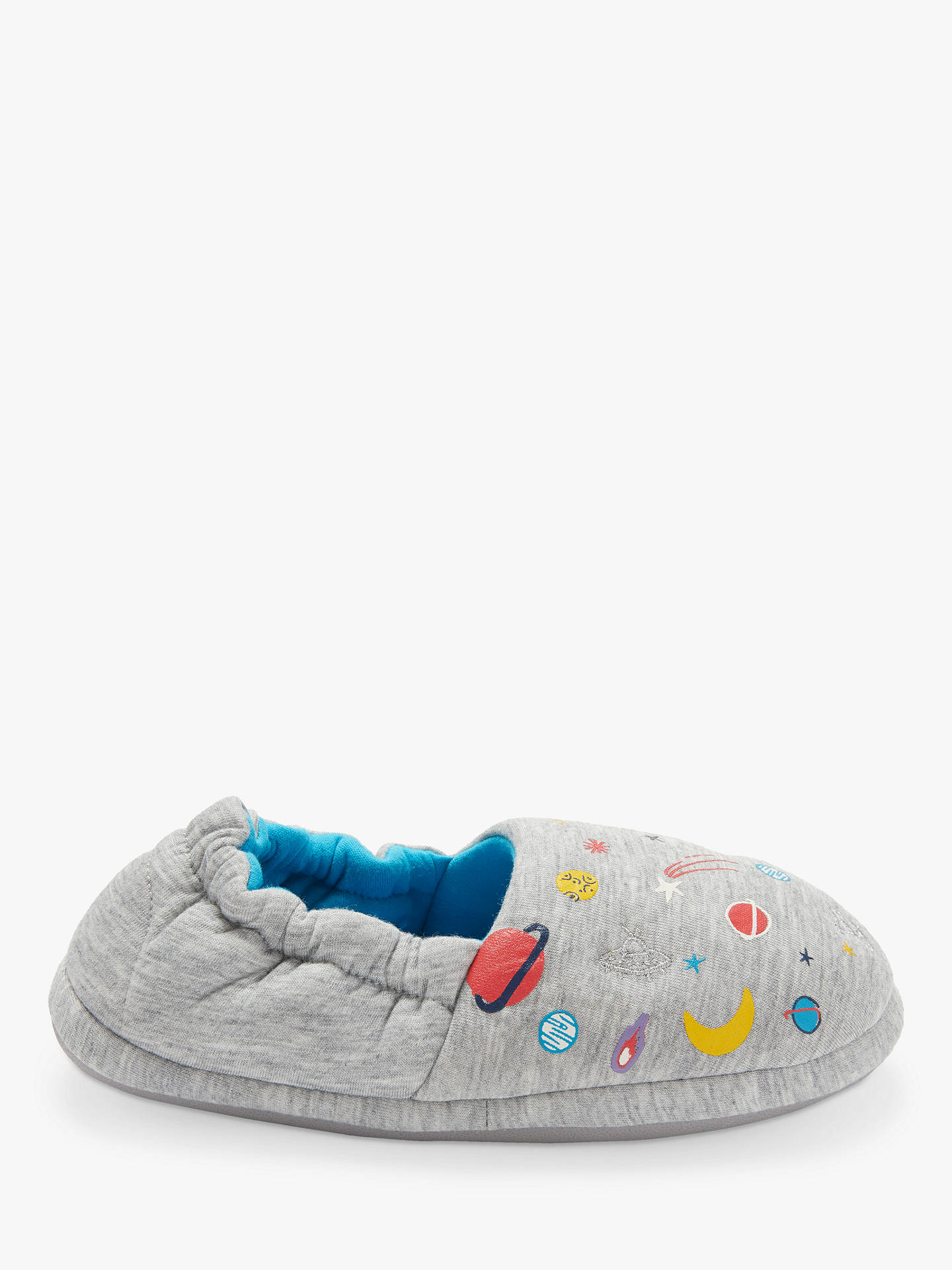 BuyJohn Lewis & Partners Space Slippers, Grey, 6 Jnr Online at johnlewis.com