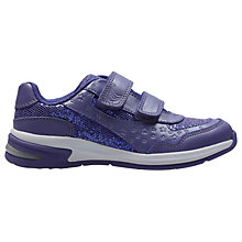 Buy Clarks Children's Piper Play Infant Shoes, Purple Online at johnlewis.com