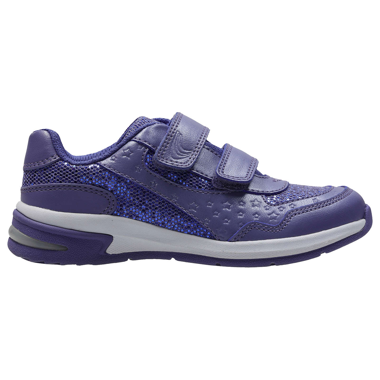 BuyClarks Children's Piper Play Infant Shoes, Purple, 10F Jnr Online at  johnlewis. ...
