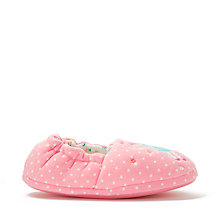 Buy John Lewis Children's Fairy Slippers, Pink Online at johnlewis.com