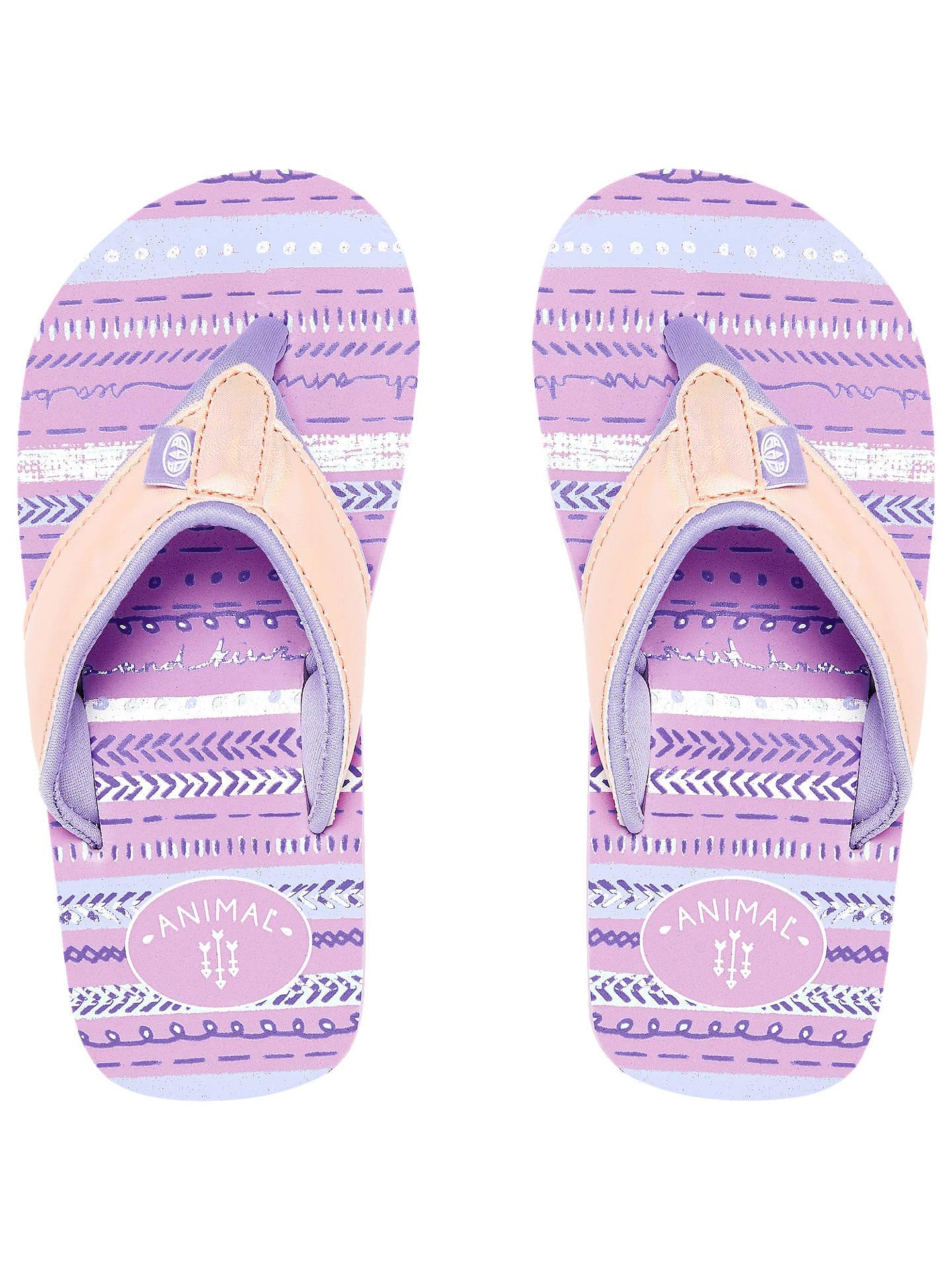 856ec241164ca2 Buy Animal Children s Swish Glitz Flip Flops