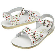 Buy Salt-Water Children's Sweetheart Sandals, Cherry Online at johnlewis.com