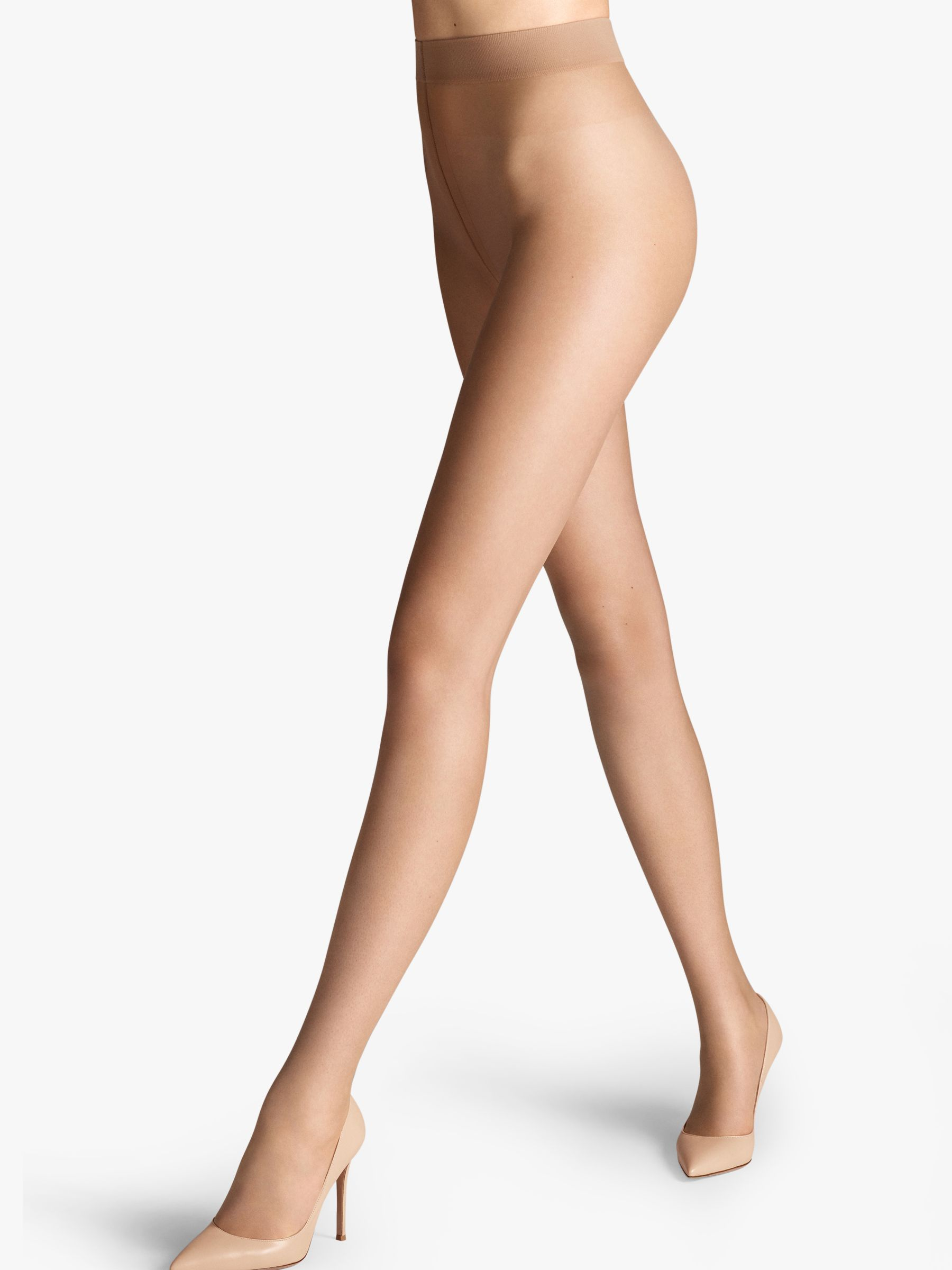 Wolford Wolford Nude 8 3 Denier Tights, Pack of 2, Fairly Light