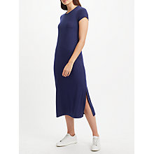 Buy Collection WEEKEND by John Lewis Jersey Midi Dress, Navy Online at johnlewis.com