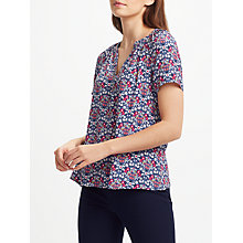 Buy Collection WEEKEND by John Lewis Daisy Chain Top, Navy Online at johnlewis.com