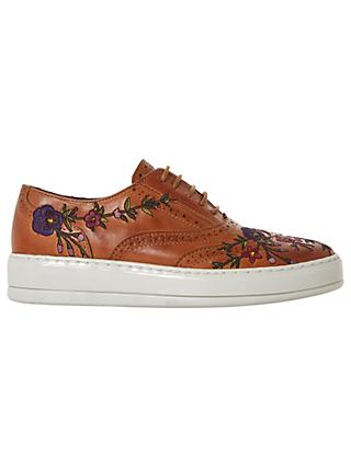 Bertie Eeden Embroidered Lace Up Trainers