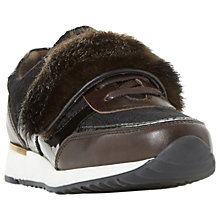 Buy Bertie Equipt Faux Fur Trainers Online at johnlewis.com