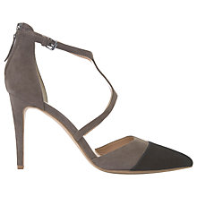 Buy Mint Velvet Leonie Pointed Toe Court Shoes, Brown Online at johnlewis.com