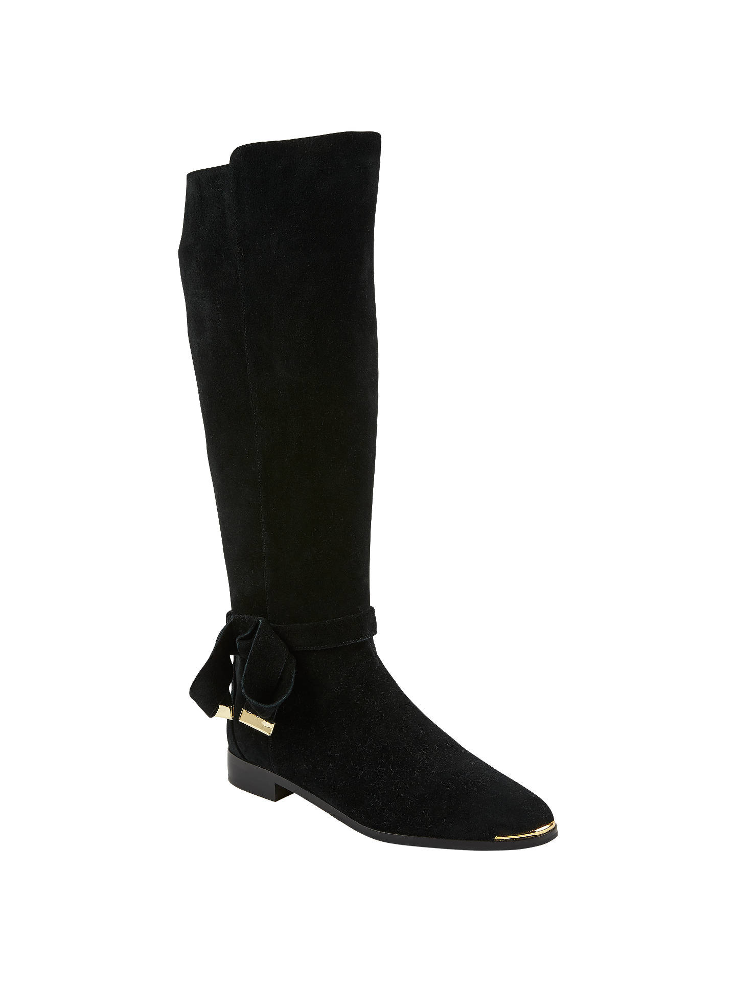 f9c31ea338e Ted Baker Alrami Suede Knee High Boot at John Lewis   Partners