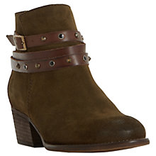 Buy Bertie Prynceton Block Heeled Ankle Boots Online at johnlewis.com