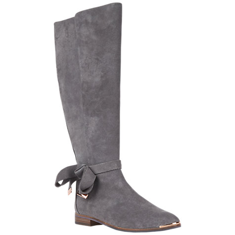 Buy Ted Baker Alrami Suede Knee High Boot Online at johnlewis.com
