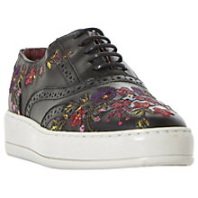 Buy Bertie Eeden Embroidered Lace Up Trainers Online at johnlewis.com