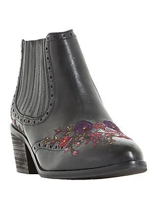 644b2293725 Bertie Peonies Block Heeled Chelsea Boots