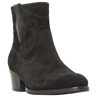 Bertie Prestern Block Heeled Ankle Boots