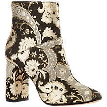 Buy Ted Baker Ishbel Block Heeled Ornate Paisley Ankle Boot, Multi Online at johnlewis.com