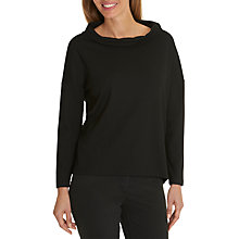 Buy Betty Barclay Loose Fit Sweatshirt, Black Online at johnlewis.com