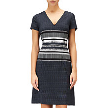 Buy Adrianna Papell Petite Herringbone Print Sheath Dress Online at johnlewis.com
