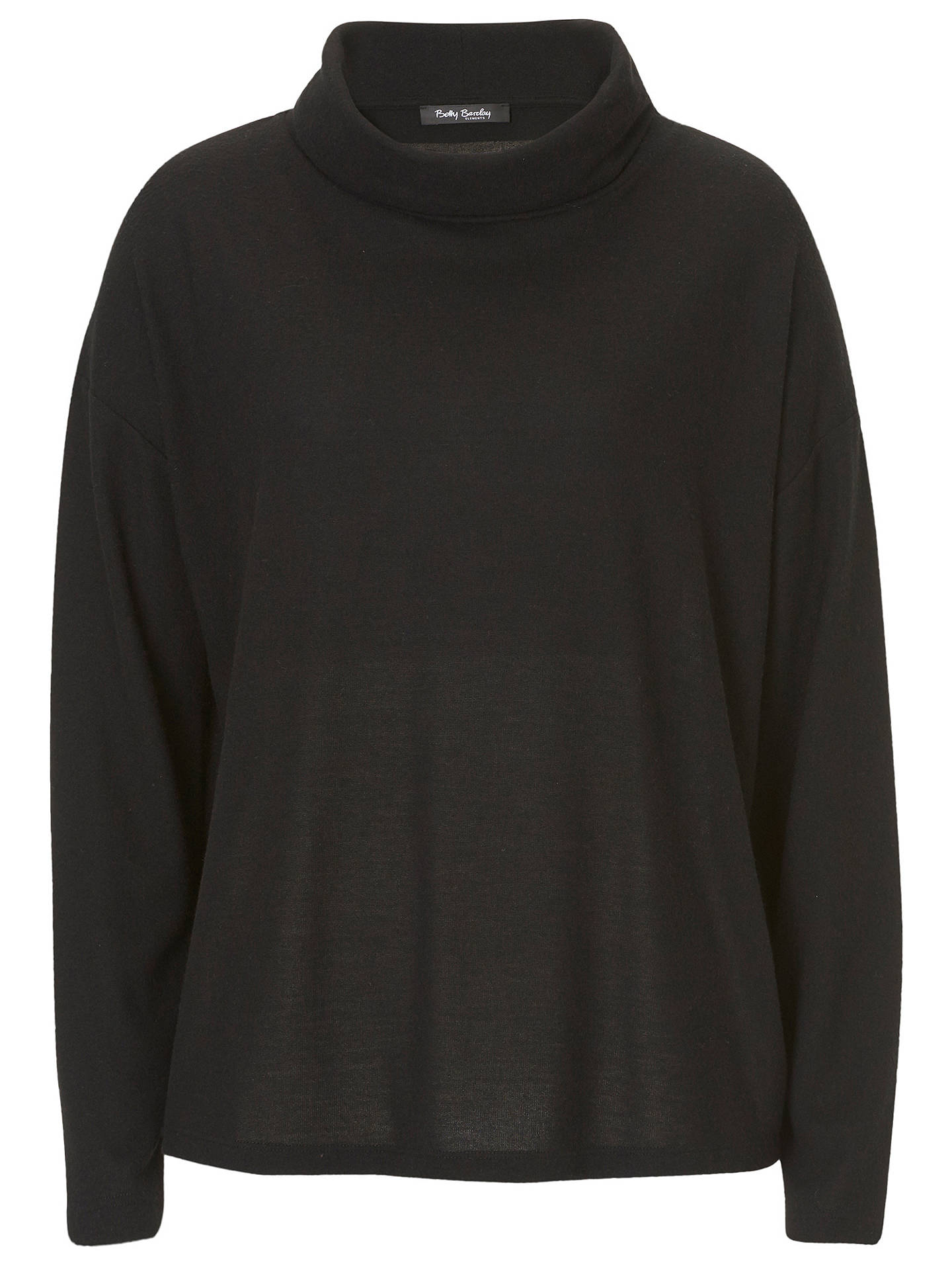BuyBetty Barclay Jersey Jumper, Black, 6 Online at johnlewis.com