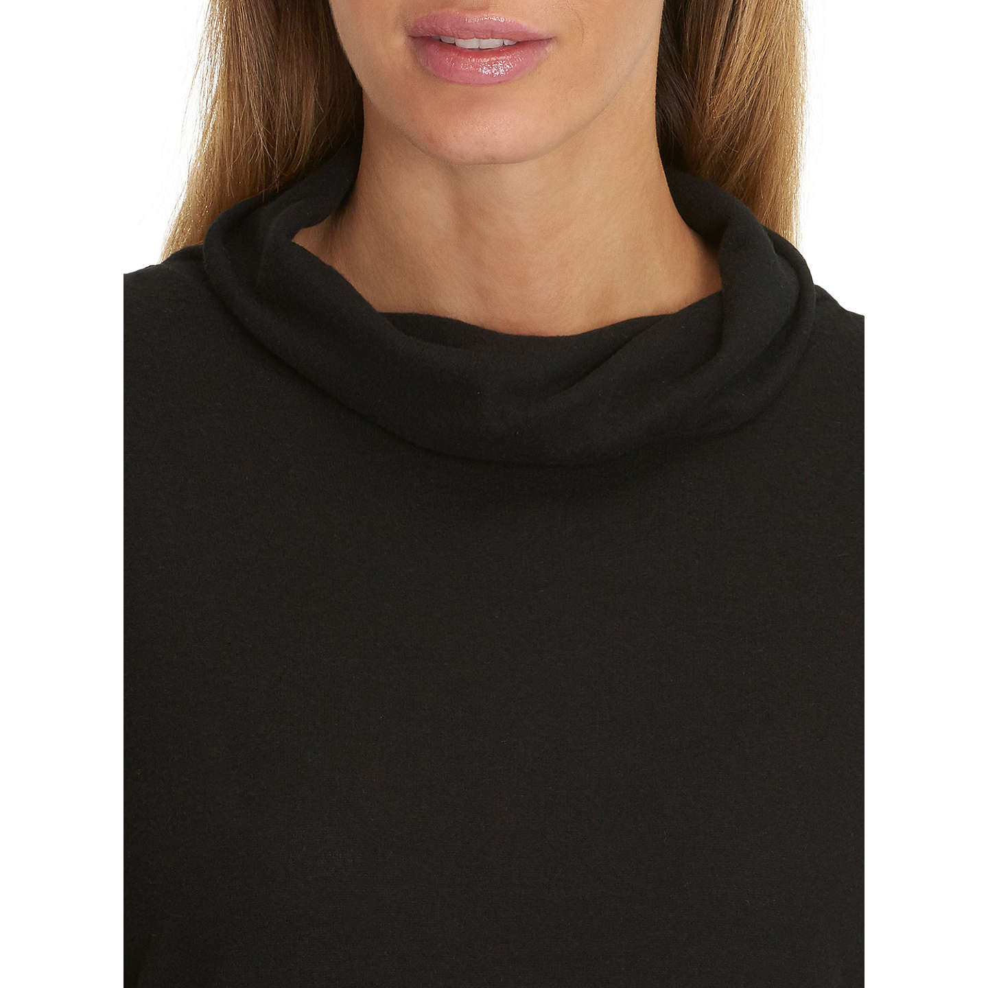 BuyBetty Barclay Jersey Jumper, Black, 18 Online at johnlewis.com