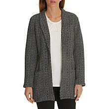 Buy Betty Barclay Textured Cardigan, Black/Cream Online at johnlewis.com