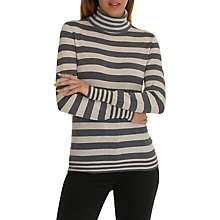 Buy Betty Barclay Roll Neck Striped Jumper Online at johnlewis.com
