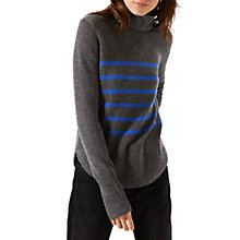 Buy Jigsaw Montmartre Cashmere Striped Jumper Online at johnlewis.com