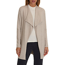 Buy Betty Barclay Longline Waterfall Cardigan, Light Beige Online at johnlewis.com