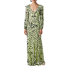 Buy Finery Assam Ferns Maxi Dress, Swirling Ferns Online at johnlewis.com