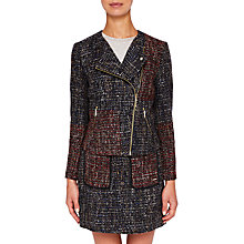 Buy Ted Baker Colour By Numbers Phebbe Patchwork Jacket, Blue Online at johnlewis.com