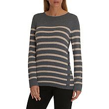 Buy Betty Barclay Button Trim Stripe Jumper Online at johnlewis.com