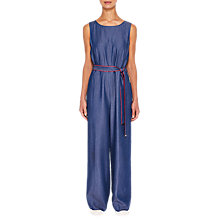Buy Ted Baker Ishbell Mid-Wash Tencel Jumpsuit Online at johnlewis.com