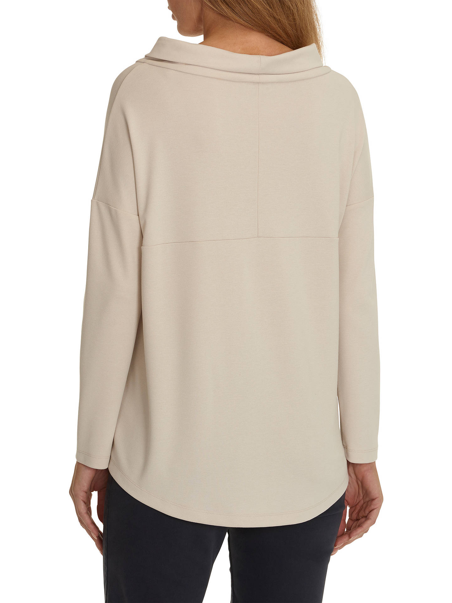 Buy Betty Barclay Loose Fit Sweat Top, Light Beige, 8 Online at johnlewis.com
