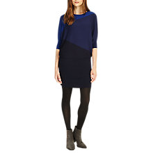 Buy Phase Eight Becca Colourblock Dress, Ink Online at johnlewis.com