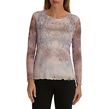 Buy Betty Barclay Chiffon Layer Top, Multi Online at johnlewis.com