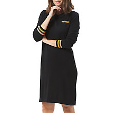 Buy Sugarhill Boutique Jamie Stripe Knit Dress, Black/Multi Online at johnlewis.com