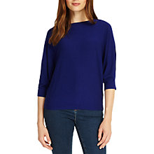 Buy Phase Eight Cristine Batwing Jumper, Cobalt Online at johnlewis.com
