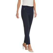 Buy Betty Barclay Printed Trousers, Dark Sky Online at johnlewis.com