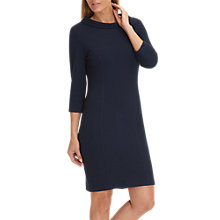 Buy Betty Barclay Ripple Textured Dress, Dark Sky Online at johnlewis.com