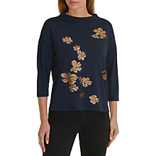 Buy Betty Barclay Embellished Jumper, Dark Blue/Multi Online at johnlewis.com