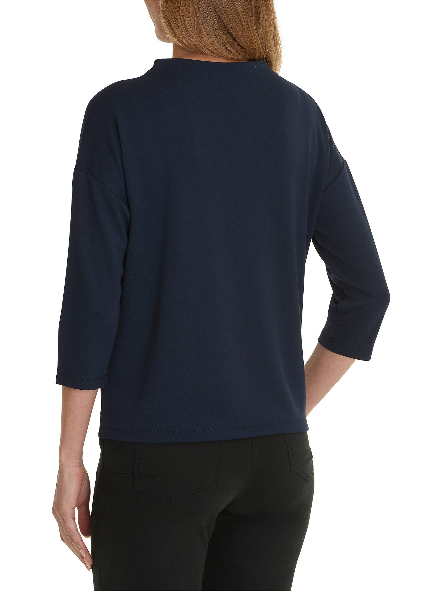 Buy Betty Barclay Embellished Jumper, Dark Blue/Multi, 8 Online at johnlewis.com