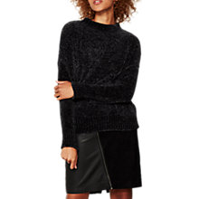 Buy Mint Velvet Chenile Funnel Neck Jumper Online at johnlewis.com