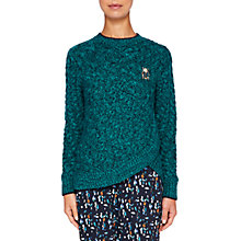 Buy Ted Baker Colour By Numbers Charo Cable Knit Jumper Online at johnlewis.com