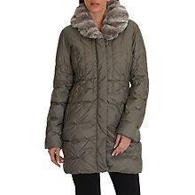 Buy Betty Barclay Down Outdoor Jacket, Earth Grey Online at johnlewis.com